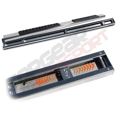 Chevy Silverado 2500HD Extended Cab 2007-2013 Running Boards Stainless 5 Inches