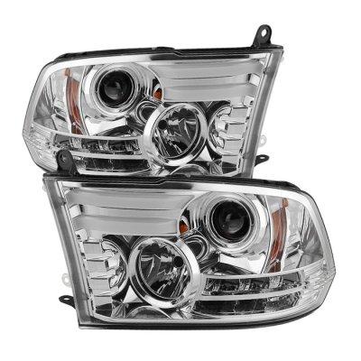 Dodge Ram 2500 2010 2017 Clear Projector Headlights Drl A10357nz101 Topgearautosport