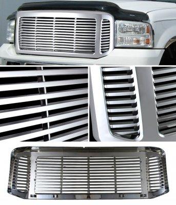 Ford F250 Super Duty 2005-2007 Chrome Billet Grille