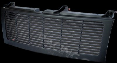 Chevy Silverado 1999-2002 Black Billet Grille Conversion