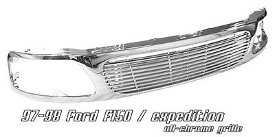 Ford Expedition 1997-1998 Chrome Billet Grille