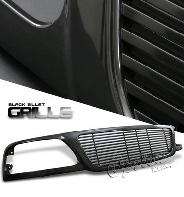 2002 Ford F150 Black Billet Style Grille