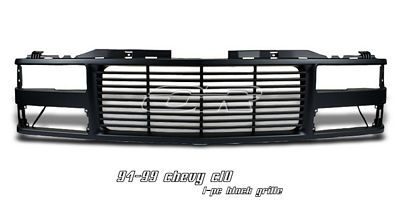 Chevy C10 1994-1998 Black Billet Grille