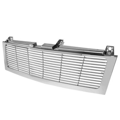 Chevy Silverado 1999-2002 Chrome Billet Grille Conversion
