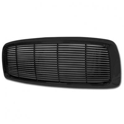 Dodge Ram 2002-2005 Black Billet Grille
