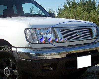Nissan Frontier 1998 2000 Aluminum Billet Grille