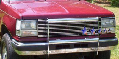 Ford Ranger 1989 1992 Polished Aluminum Billet Grille A127elnj150 Topgearautosport