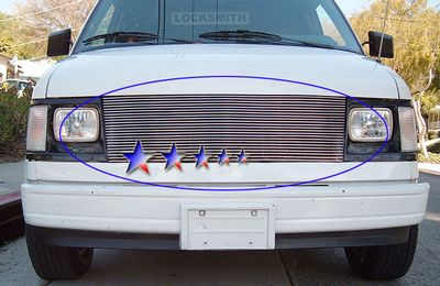 GMC Safari Van 1985-1994 Polished Aluminum Billet Grille