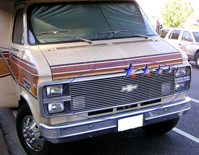 Gmc C15 Pickup 1981 1987 Polished Aluminum Billet Grille