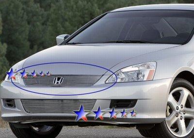 Honda Accord Coupe 2006 2007 Aluminum Billet Grille