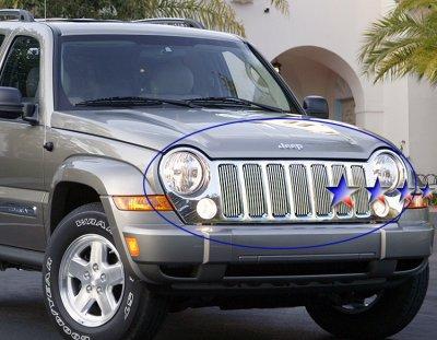 Jeep Liberty 2005-2007 Aluminum Billet Grille ...