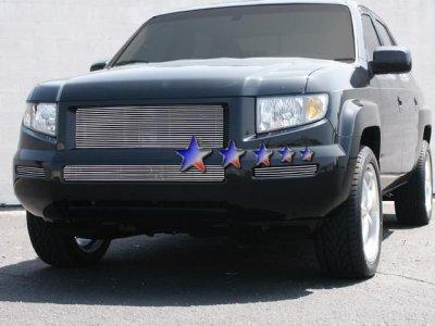 Honda Ridgeline Aluminum Lower Bumper Sides Billet - 2005 ridgeline