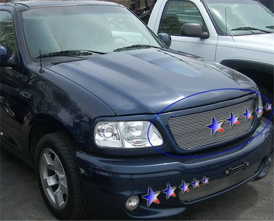 Ford F150 1999-2003 Polished Aluminum Billet Grille