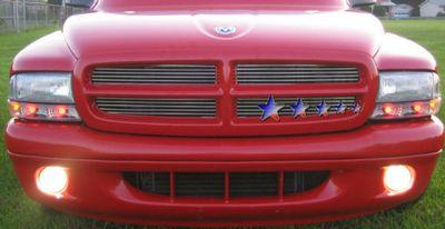Dodge Dakota 1997 2004 Polished Aluminum Billet Grille