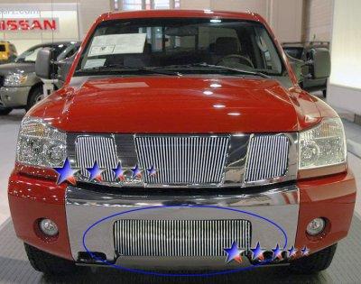 Nissan Armada 2004 2007 Aluminum Lower Bumper Billet