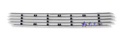 2002 Ford F150 4WD Polished Aluminum Lower Bumper Billet Grille