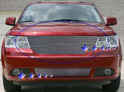 Dodge Journey 2009 2010 Polished Aluminum Billet Grille