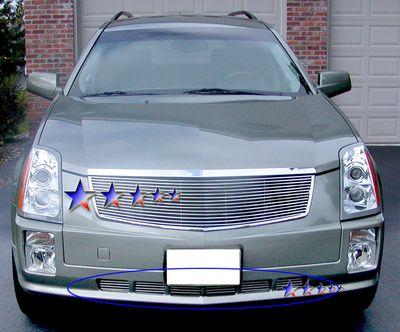 Cadillac SRX 2005-2009 Polished Aluminum Lower Bumper Billet Grille