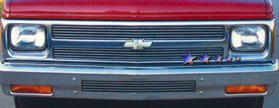 Chevy S10 Blazer 1991-1993 Polished Aluminum Billet Grille