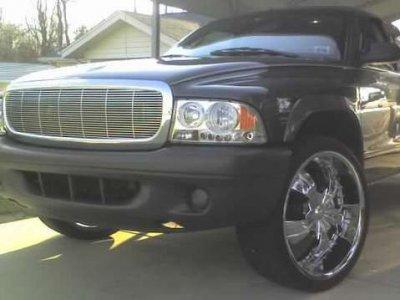 Dodge Dakota 1997-2004 Chrome Billet Grille