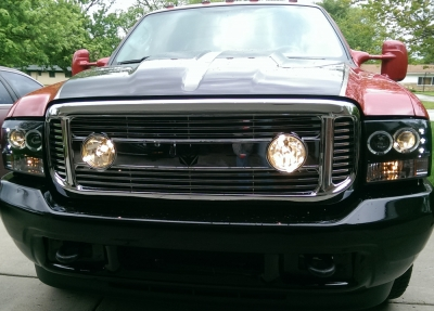 Ford F350 Super Duty 1999 2004 Chrome Billet Grille And