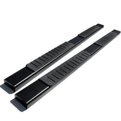 Chevy Silverado 1500 Extended Cab 1999-2006 Running Boards Black 6 Inches