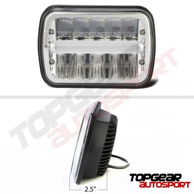 1999 Chevy Tahoe DRL LED Seal Beam Headlight Conversion