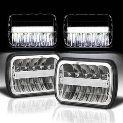 1984 Dodge Aries DRL LED Seal Beam Headlight Conversion