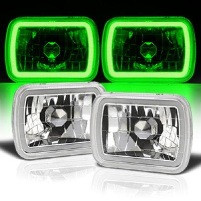 2001 GMC Savana Green Halo Tube Sealed Beam Headlight Conversion