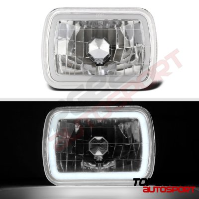 1993 Chevy Astro Halo Tube Sealed Beam Headlight Conversion