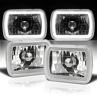 Dodge Aries 1981-1989 Halo Tube Sealed Beam Headlight Conversion