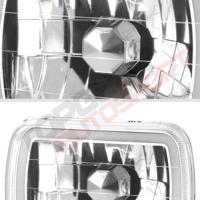 1991 GMC Safari Halo Tube Sealed Beam Headlight Conversion