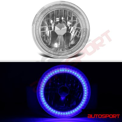 Porsche 911 1969-1986 Blue SMD LED Sealed Beam Headlight Conversion