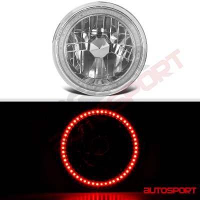 Jeep Cherokee 1974-1978 Red SMD LED Sealed Beam Headlight Conversion