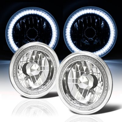 1973 Chevy C10 Pickup SMD LED Sealed Beam Headlight Conversion