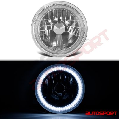 1976 Dodge Pickup Truck SMD LED Sealed Beam Headlight Conversion