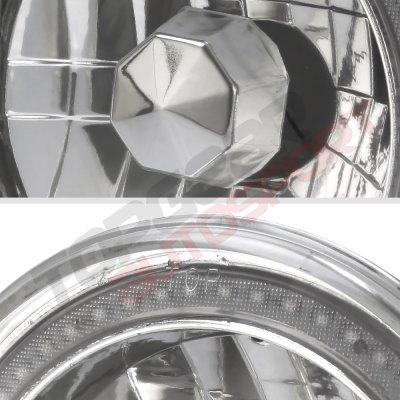Mazda Miata 1990-1997 Color SMD LED Sealed Beam Headlight Conversion Remote
