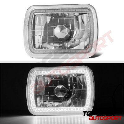 Jeep Wrangler 1987-1995 SMD LED Sealed Beam Headlight Conversion