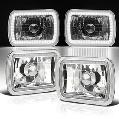 1987 Dodge Ramcharger SMD LED Sealed Beam Headlight Conversion