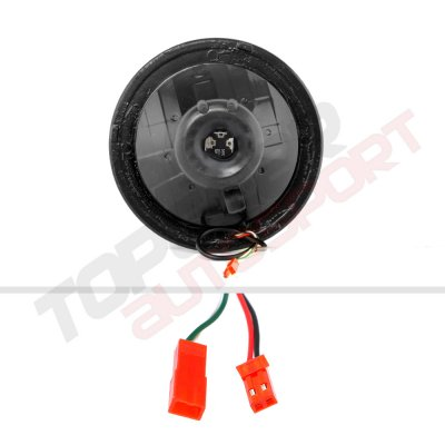 VW Beetle 1971-1979 Color SMD LED Black Chrome Sealed Beam Headlight Conversion Remote