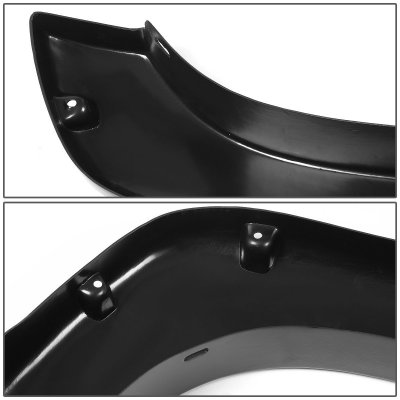 Chevy Silverado 1999-2002 Fender Flares Pocket Rivet Textured