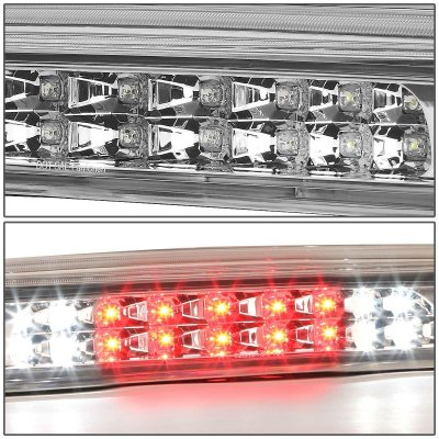Toyota Tundra 2007-2018 Clear Full LED Third Brake Light Cargo Light