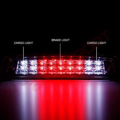 Dodge Ram 2009-2018 Smoked Full LED Third Brake Light Cargo Light