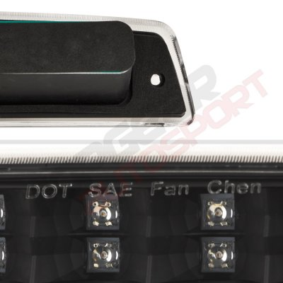 2000 Dodge Ram Black Full LED Third Brake Light Cargo Light