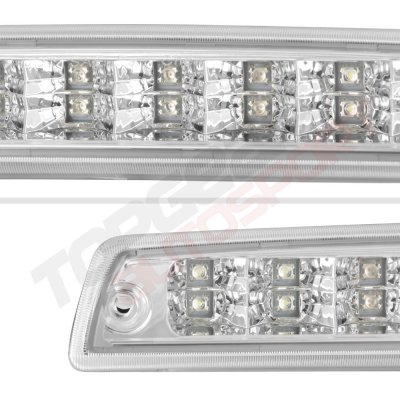 Dodge Ram 2500 1994-2002 Chrome Full LED Third Brake Light Cargo Light