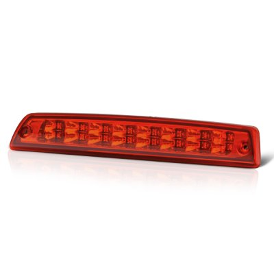 2000 Dodge Ram 2500 Red Full LED Third Brake Light Cargo Light