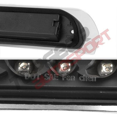 Dodge Ram 2002-2008 Black Full LED Third Brake Light Cargo Light