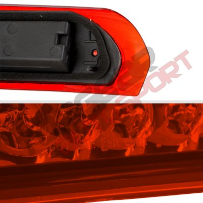 Dodge Ram 2002-2008 Red Full LED Third Brake Light Cargo Light