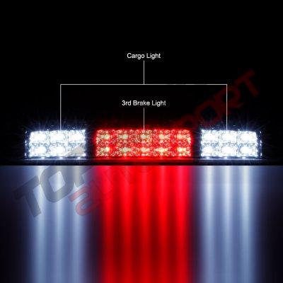 Ford F150 2004-2008 Chrome Full LED Third Brake Light Cargo Light