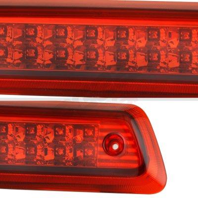 Ford F150 2004-2008 Red Full LED Third Brake Light Cargo Light